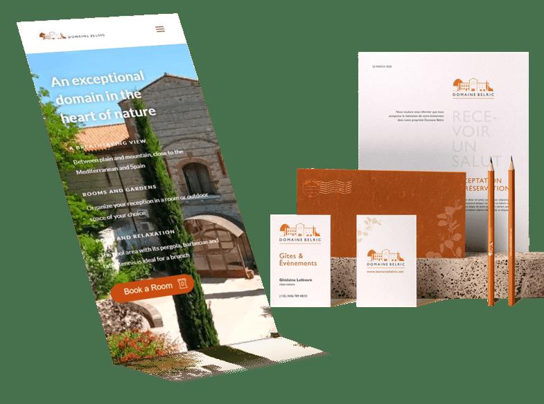 Rediseño de marca - Agencia de hoteles - hospedajes - hostelería