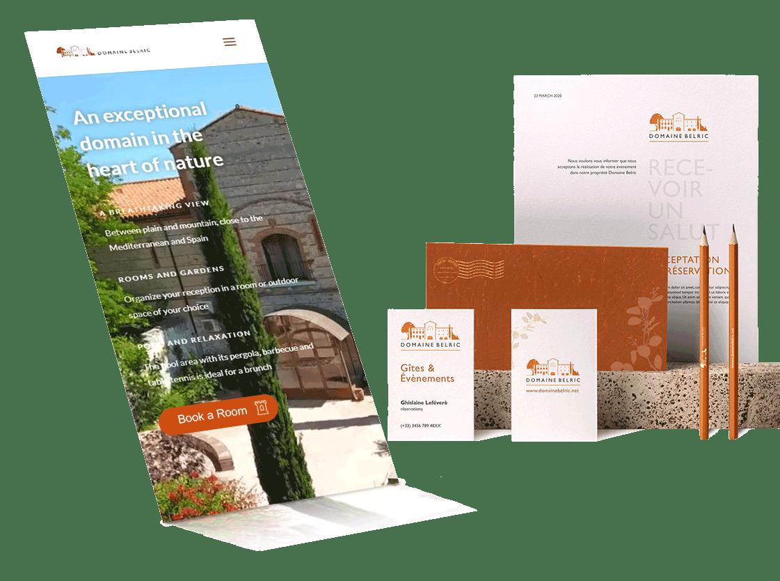 Brand Re-design - Hostelry agency- hospedajes - hospitality design